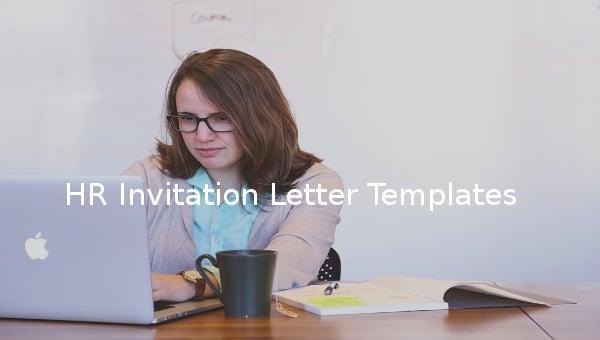 hr invitation letter template