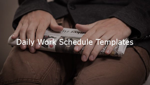 dailyworkscheduletemplates