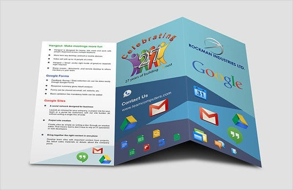 17 fabulous google brochure templates psd ai indesign for Google brochure template