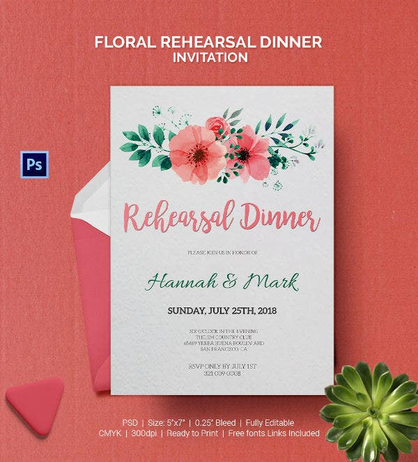 Dinner Invitation Template 35 Free PSD Vector EPS AI Format – Dinner Party Invitations Templates