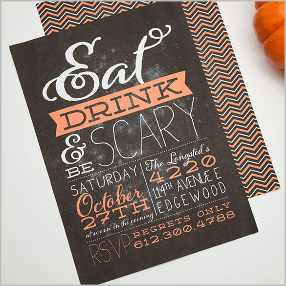 Halloween Invitation  Free Psd Vector Eps Ai Format Download