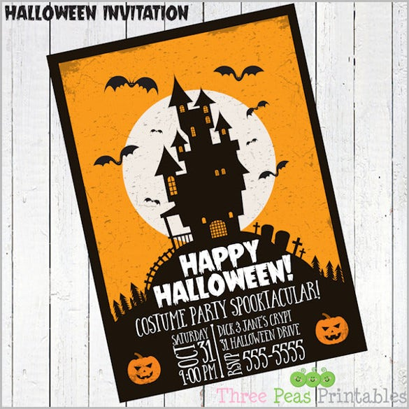 35 halloween invitation templates free psd invitations download free premium templates. Black Bedroom Furniture Sets. Home Design Ideas