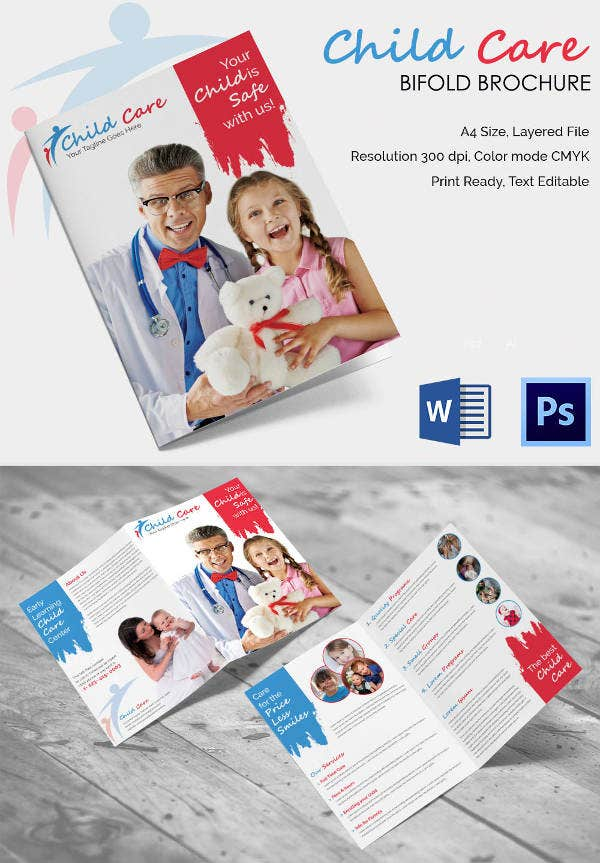 ChildCare Bifold Brochure