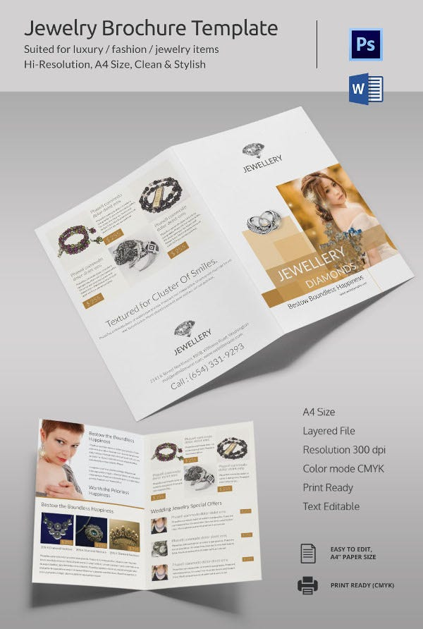 Microsoft brochure template 34 free word pdf ppt for Pdf brochure design templates