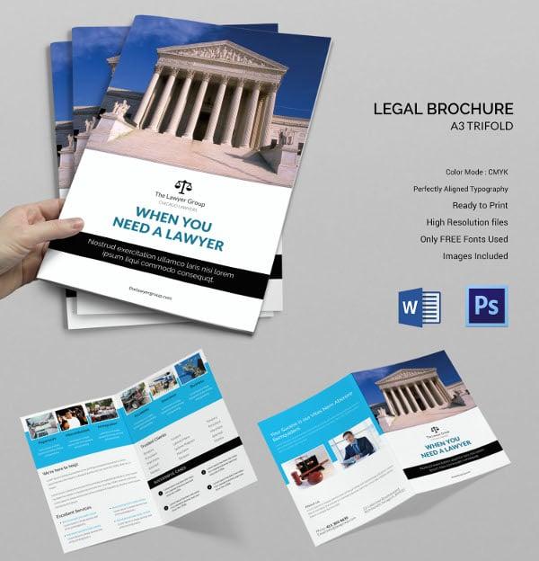 Legal Brochure Bi-fold