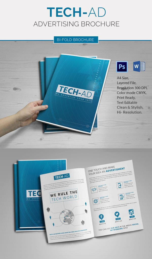 Microsoft Advertising Bi-Fold Brochure