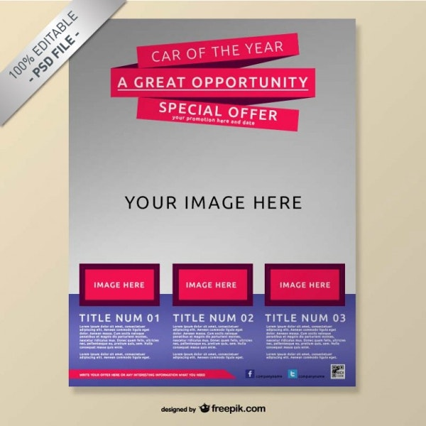 free company flyer template