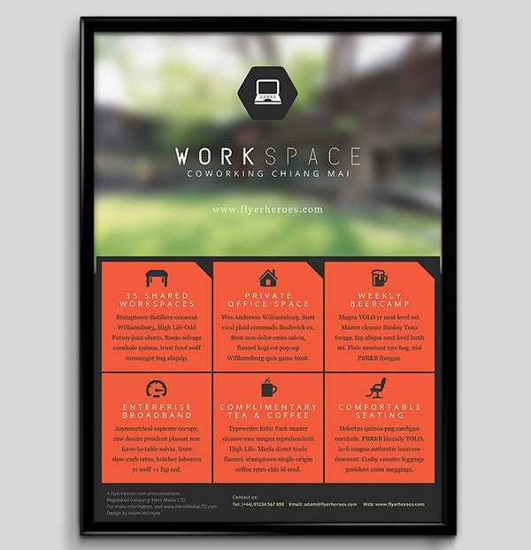 flyer templates for small business