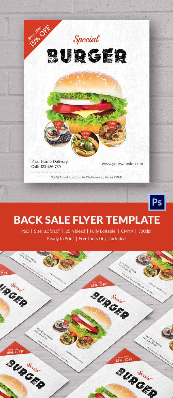 Awesome Bake Sale Flyer Template