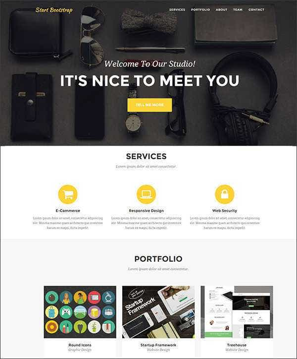 agency bootstrap template with php contac11