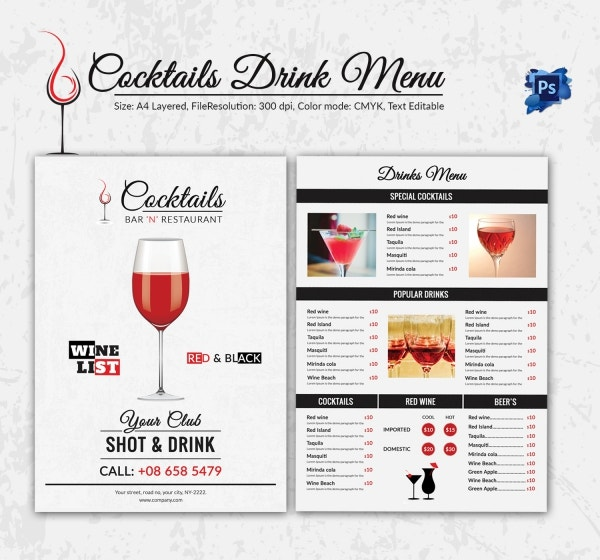 Drinks_Menu_Template 2