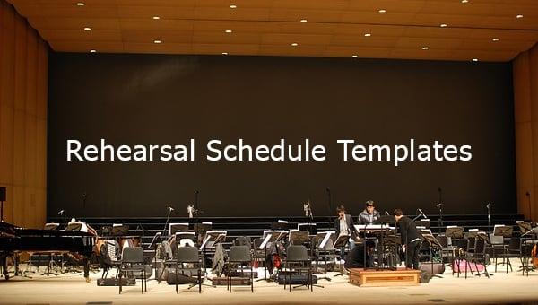 rehearsalscheduletemplates