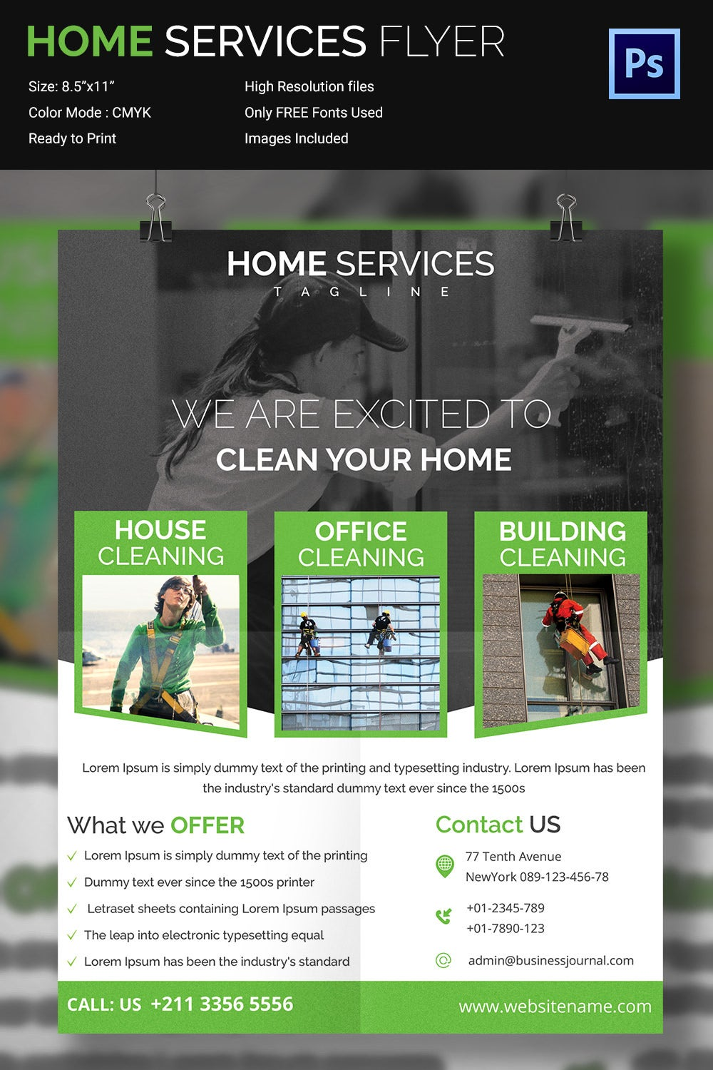 house cleaning flyer psd format house cleaning services flyer template