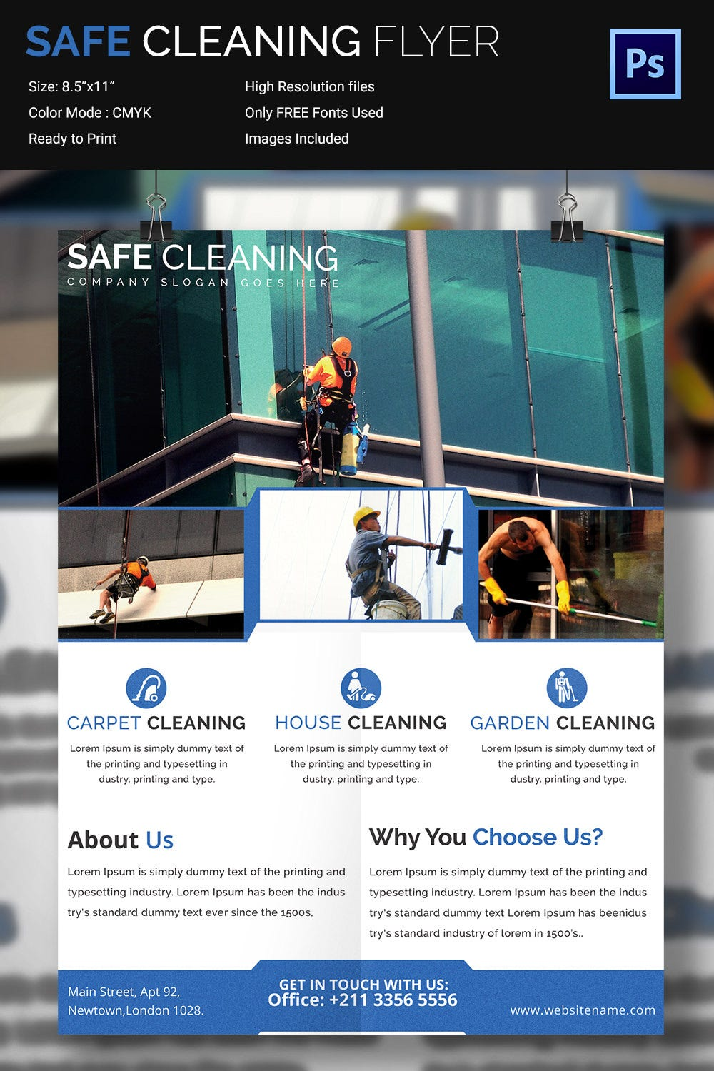 House Cleaning Flyer Template - 23+ PSD Format Download | Free ...