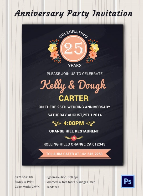 chalkboard invitation template 45 free jpg psd indesign birthday invitations