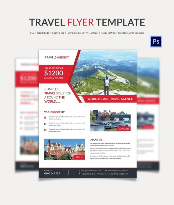 Navigation Travel Flyer Template