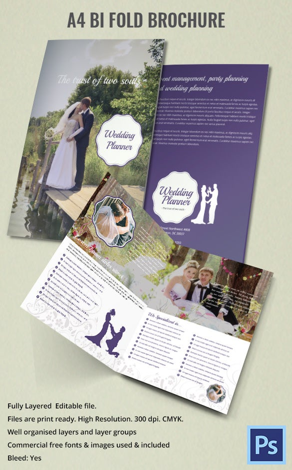 wedding cake brochure templates printable bi fold brochure template 67 free word psd 22105