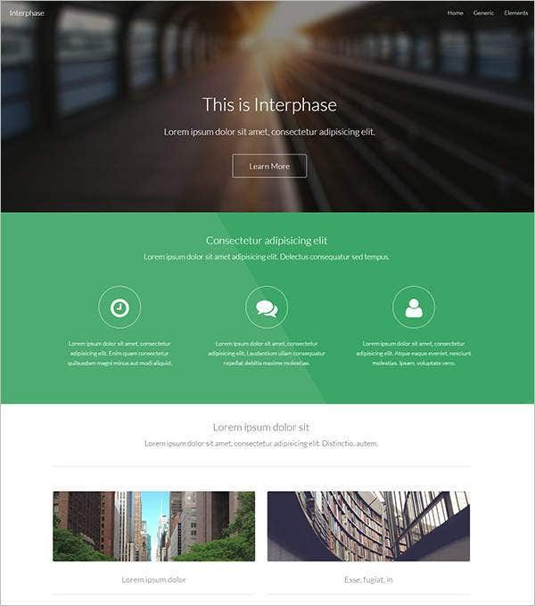 interphase php template11
