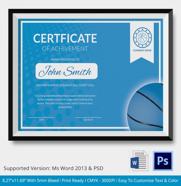 Youth basketball certificate template images certificate design youth basketball certificate template gallery certificate design sample certificate of appreciation for basketball images youth basketball yadclub Choice Image
