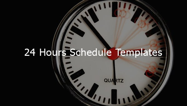24hoursscheduletemplates