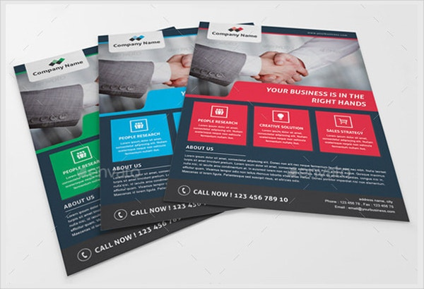 17 marketing flyer template free psd eps documents for Marketing brochure template