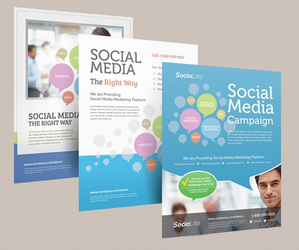 Marketing Flyer Templates  Free Psd Eps Documents Download