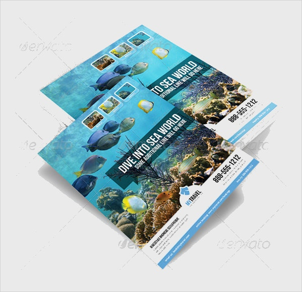 fantastic marketing flyer template