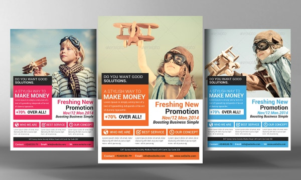 Awesome Marketing Flyer Template