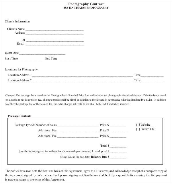 wedding photography contract pdf the modern rules of