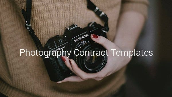 22+ Photography Contract Templates – Word, PDF, Apple Pages