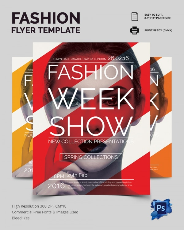 14+ Fashion Flyer PSD Templates & Designs! | Free & Premium Templates