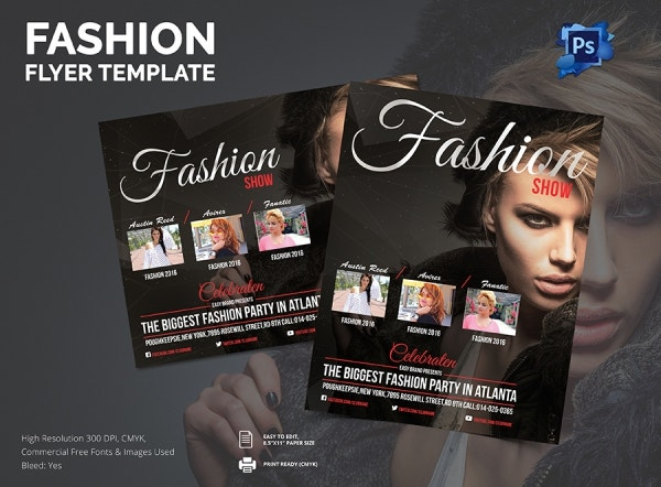21 fashion flyer psd templates designs free 22 fashion flyer psd templates designs free maxwellsz