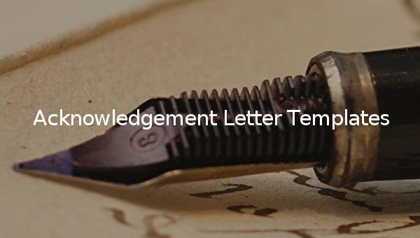 acknowledgementlettertemplatess