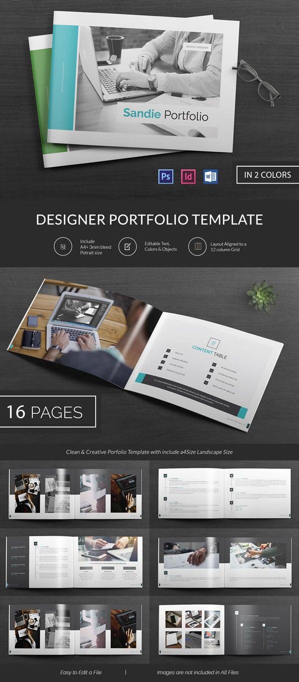 26 portfolio psd themes templates free premium templates. Black Bedroom Furniture Sets. Home Design Ideas