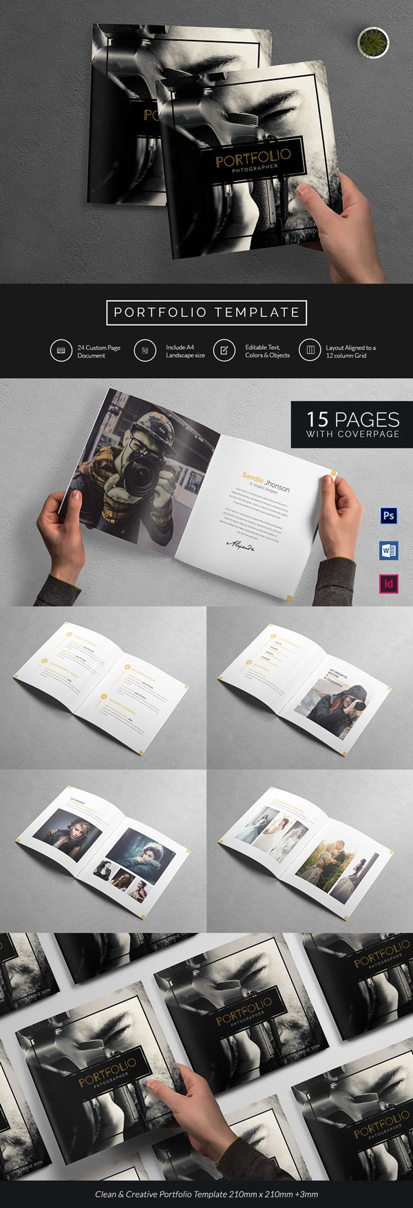 Sample Photography Portfolio Template