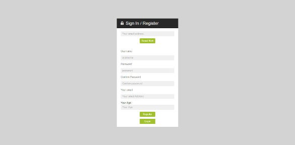 9+ Best PHP Registration Form Templates |Free & Premium Themes ...