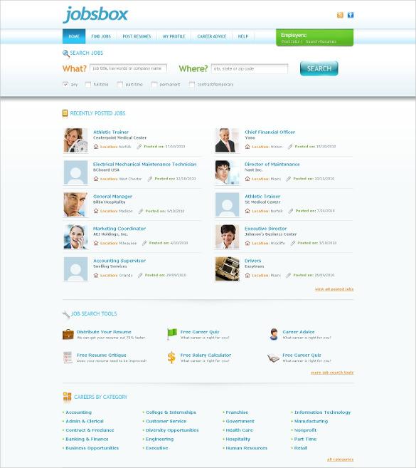 19 Job Portal Html5 Themes Amp Templates Free Amp Premium