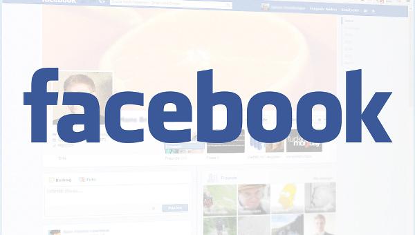 blank facebook template