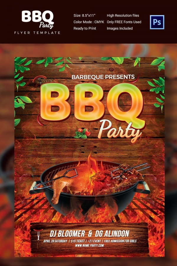 Bbq Flyer Example  UpriseTk
