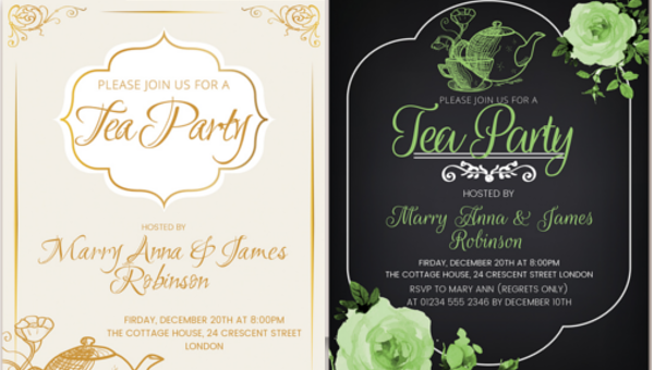 morning tea invitation template free.html