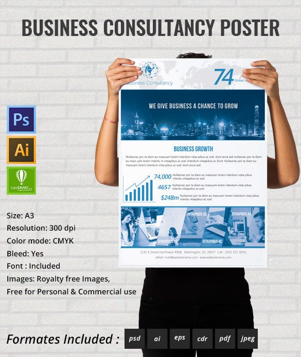 business_Consultency_poster