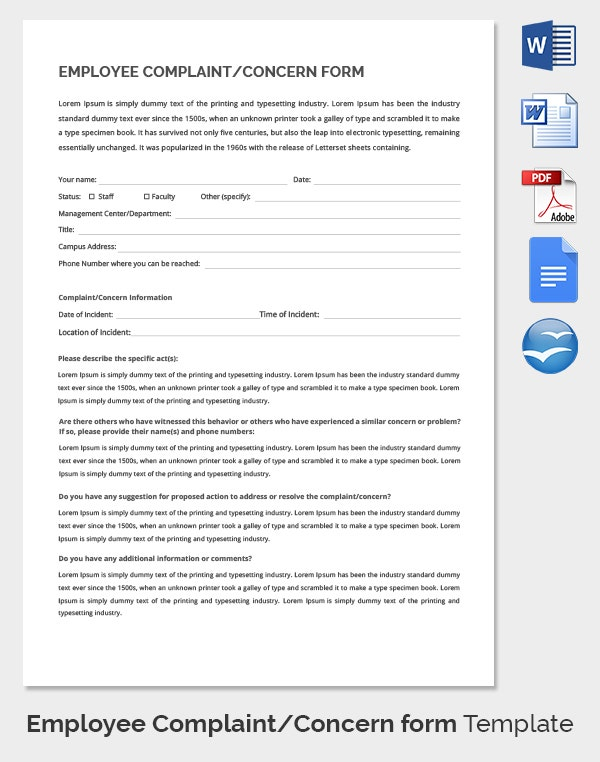 Complaint form template datariouruguay thecheapjerseys Choice Image