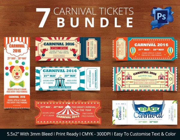 Carnival Ticket Bundle