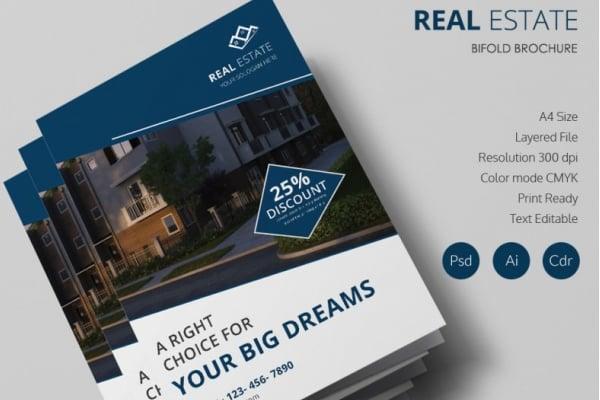 26 Free Real Estate Brochures Word