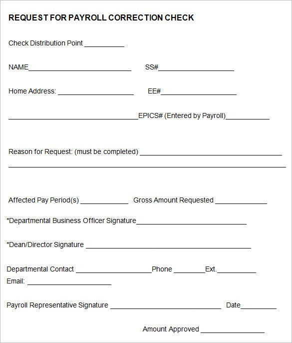 12 New Hire Processing Forms HR Templates – Payroll Forms Templates
