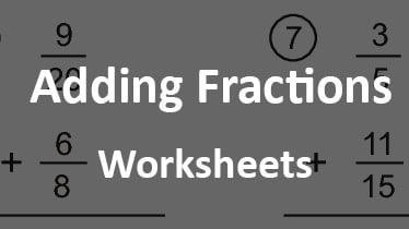 addingfractionsworksheet