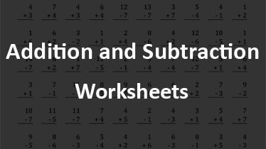 additionandsubtractionworksheet