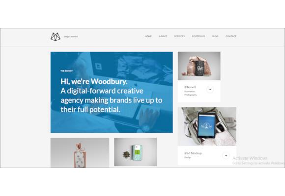 agency drupal portfolio theme