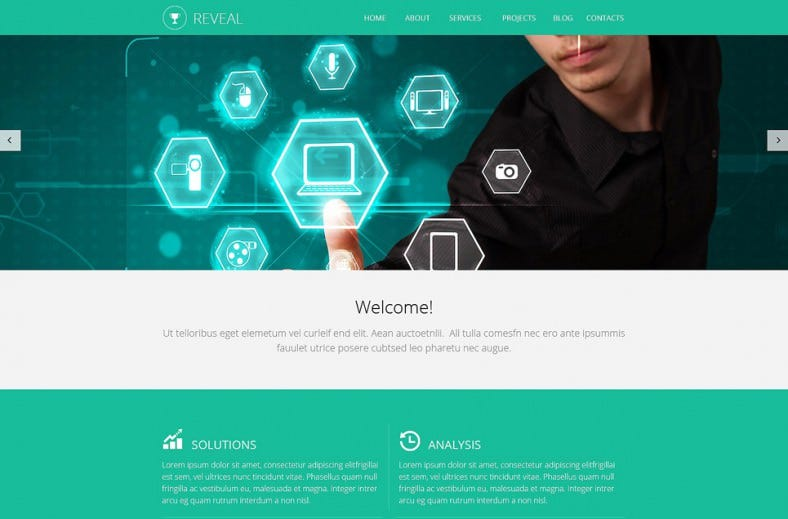20+ Best Agency Website Templates | Free & Premium Themes | Free ...