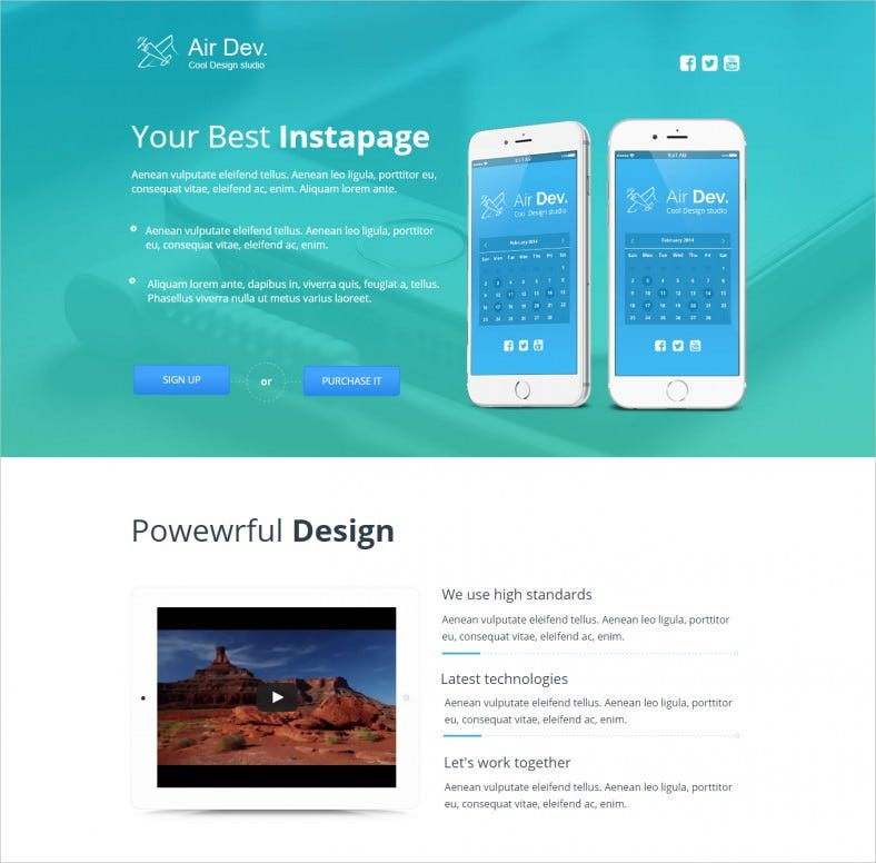 free landing page templates for wordpress - dynamic landing page templates themes free premium